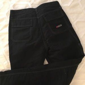 Union Bay black nylon pants size 9